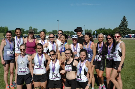 The OAC Racing Team after Emilie's Run Saturday June 18th