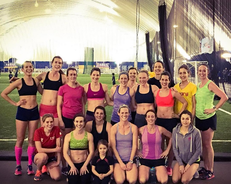OAC Racing Team after their workout at the Dome January 17th.