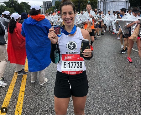 Erin Mayo ran a PB 3:26:43 in this morning's Chicago Marathon.