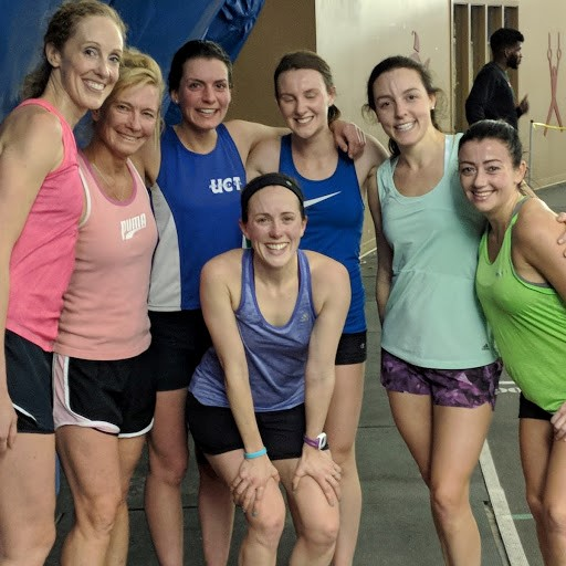 The 'Magnificent Seven' post workout at the Dome