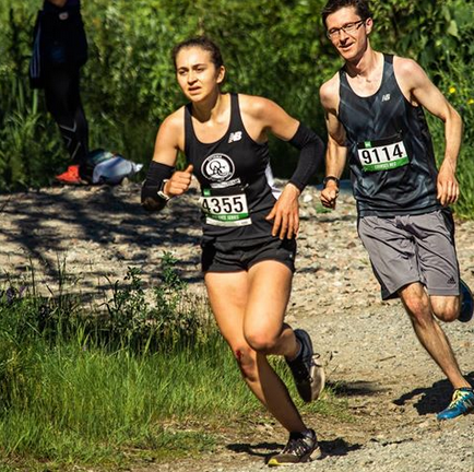 Renata Kingston placed 4th in the MEC Ottawa Trail Race on Sunday